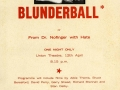 Blunderball poster