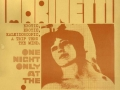 Marinetti world premiere poster, 1969