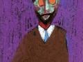 Portrait of Bill Psych (pastels on card-board, c.1962